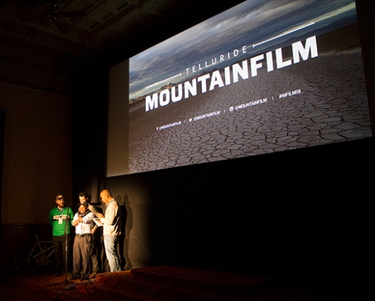 One of I am Able screenings at Telluride Mountainfilm Festival
